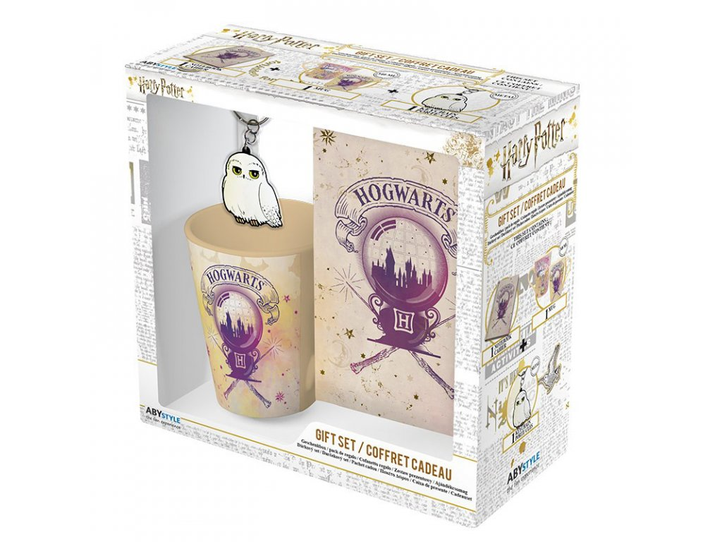 harry potter pck mug250ml keyringpvc notebook hogwarts 6