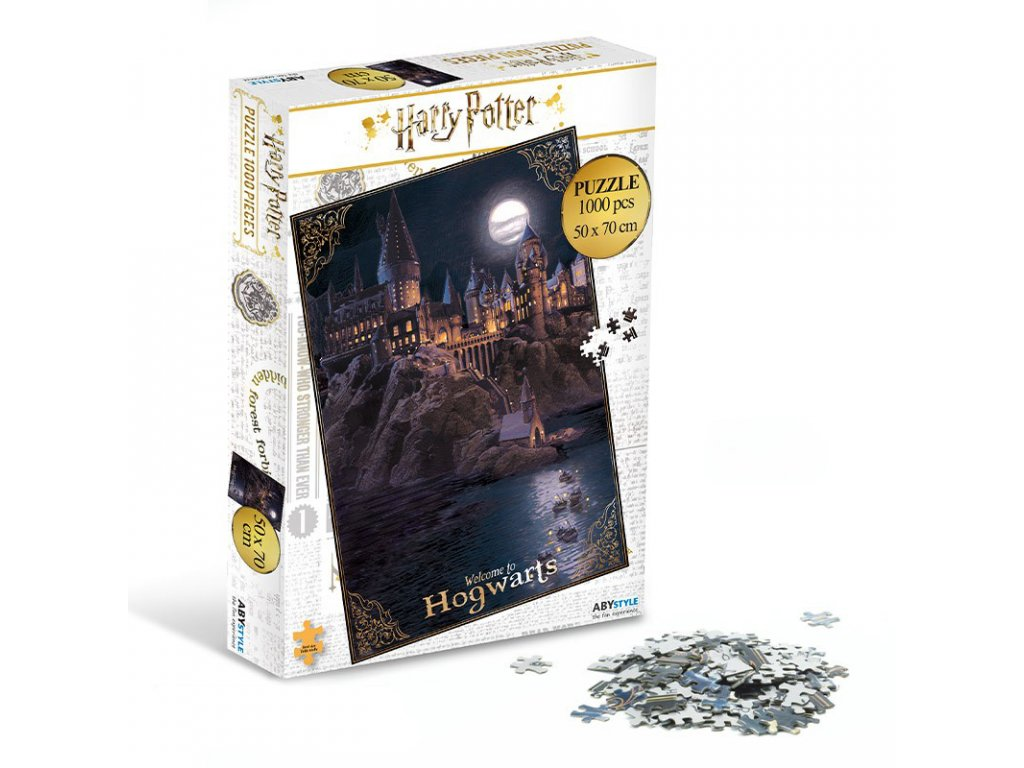 harry potter jigsaw puzzle 1000 pieces hogwarts3
