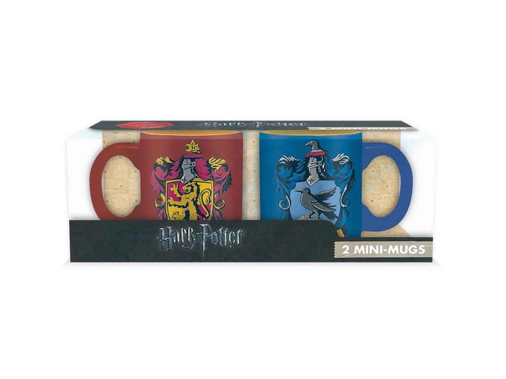 harry potter set 2 espresso mugs 110 ml gryffindorravenclawx25