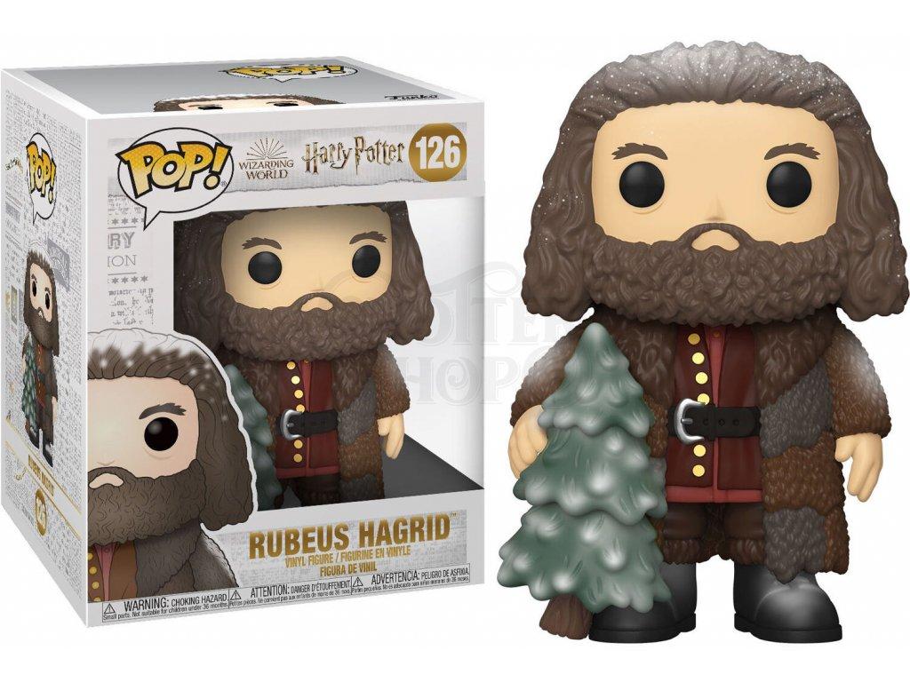 Funko POP! #126 Harry Potter: Hagrid se stromkem (extra velikost)