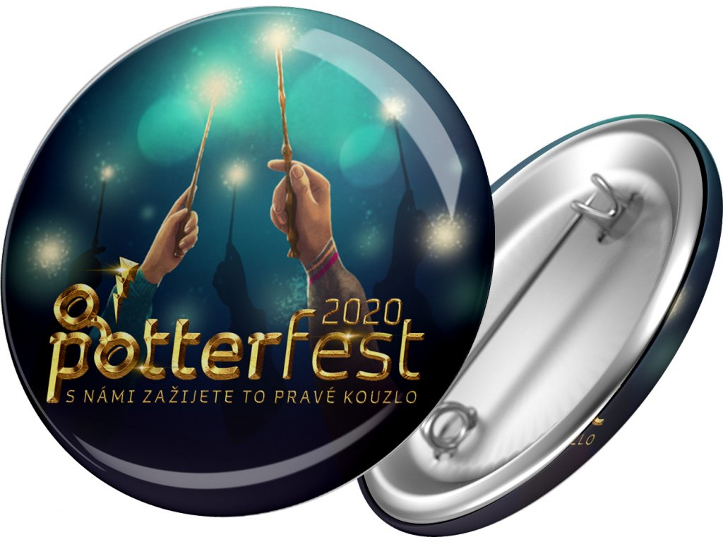 potterfest placka