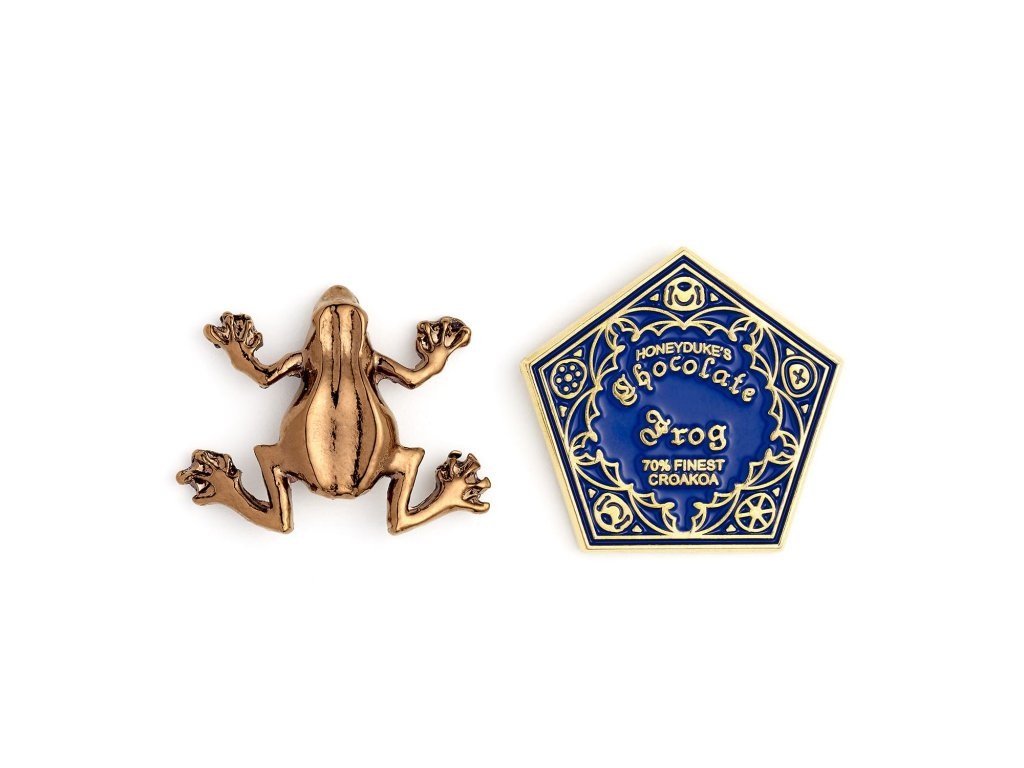 hp badge chocolate frog