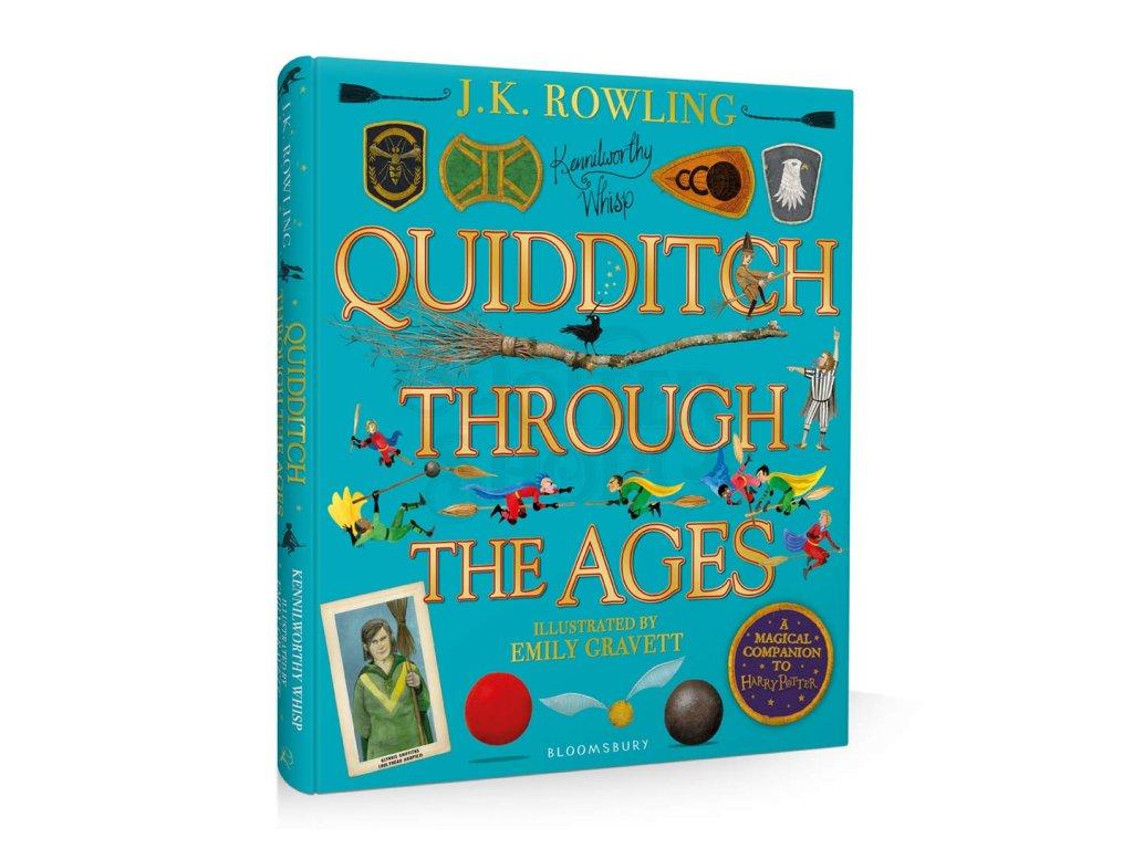 Kniha Quidditch Through the Ages - Ilustrovaná edice EN