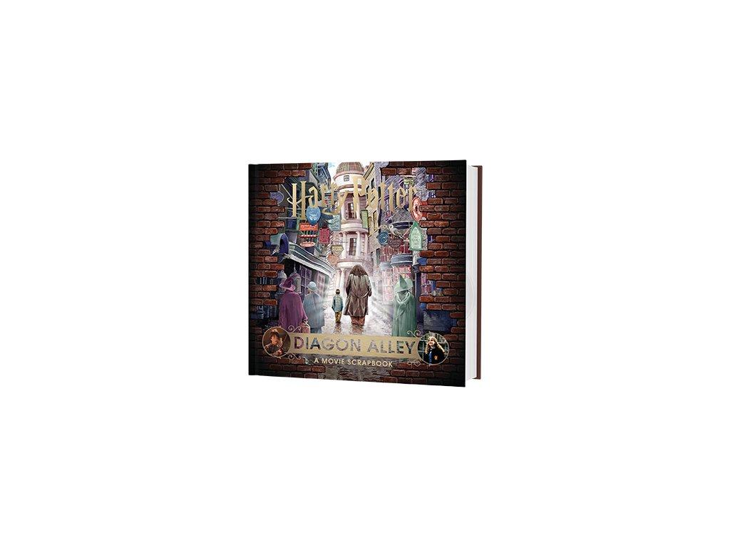 Kniha Harry Potter - Diagon Alley: A Movie Scrapbook