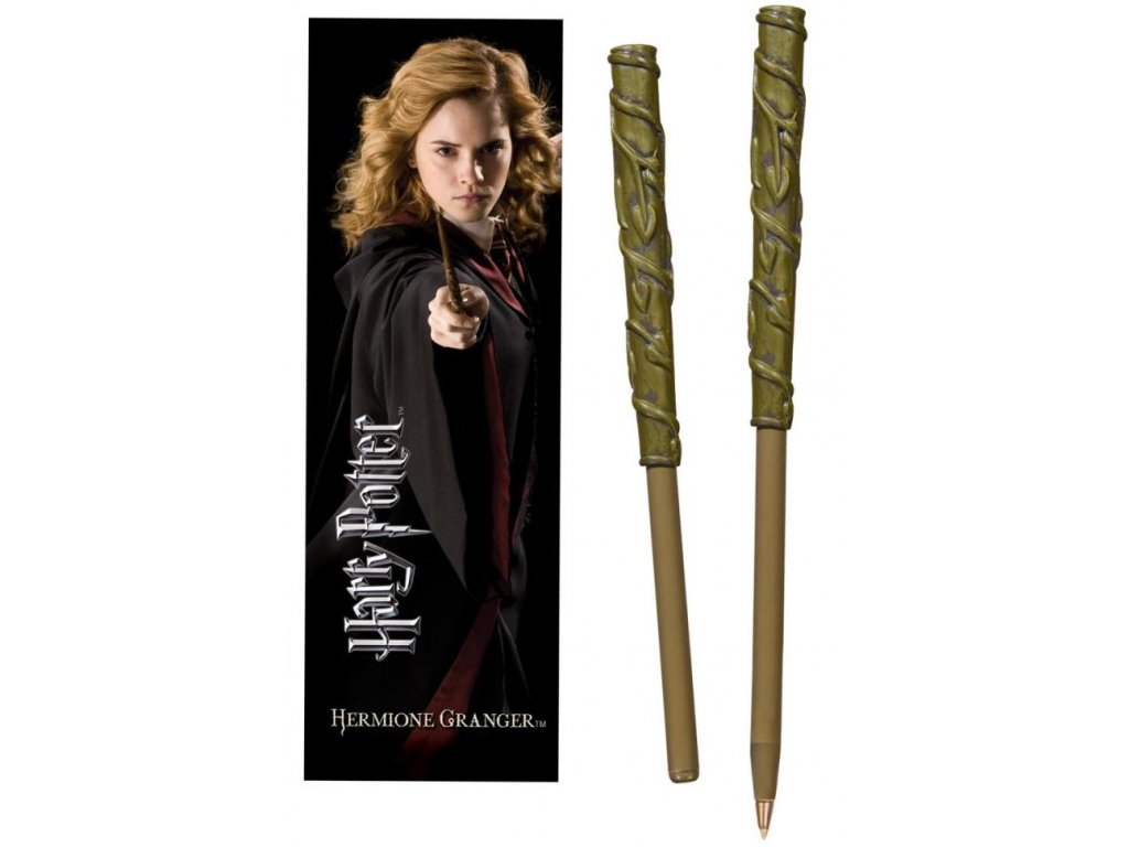 wand pen and bookmark hermione granger packaging 6195 1600