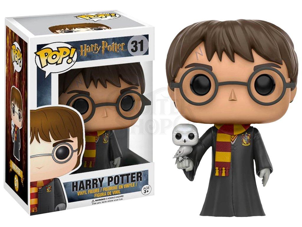 harry potter with hedwig hot topic exclusive pop vinyl figure.1498485262