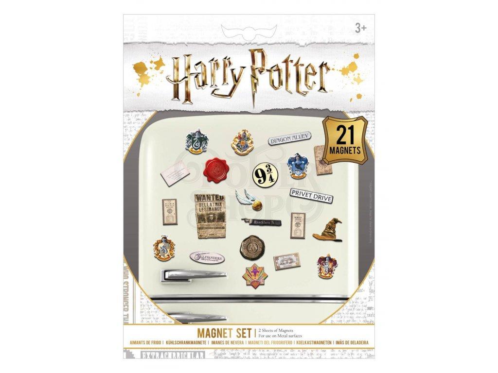 Sada magnetek Harry Potter