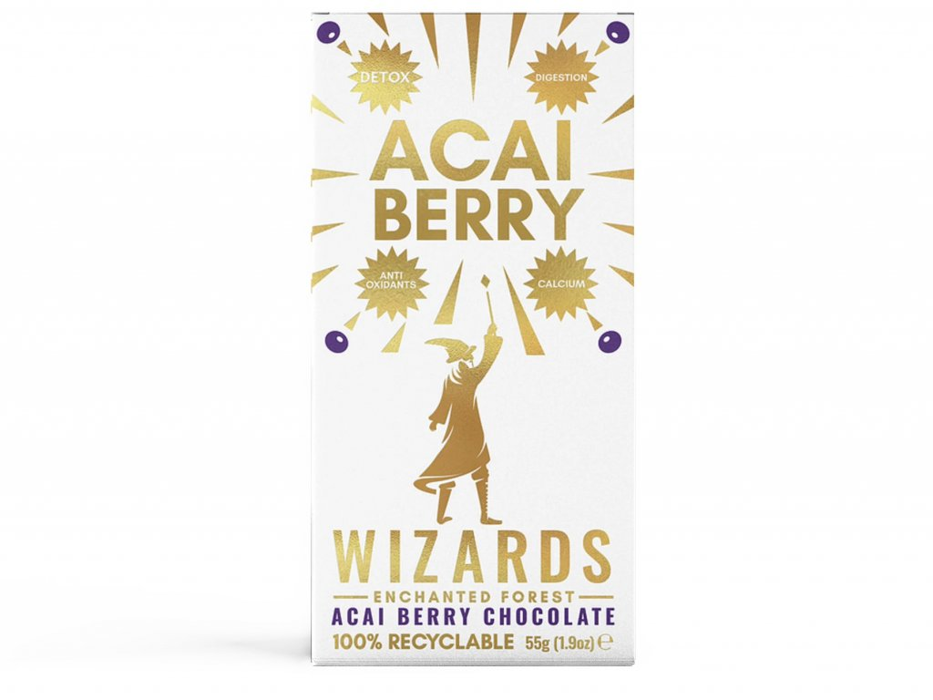 harry potter cokolada wizards magic acai berry