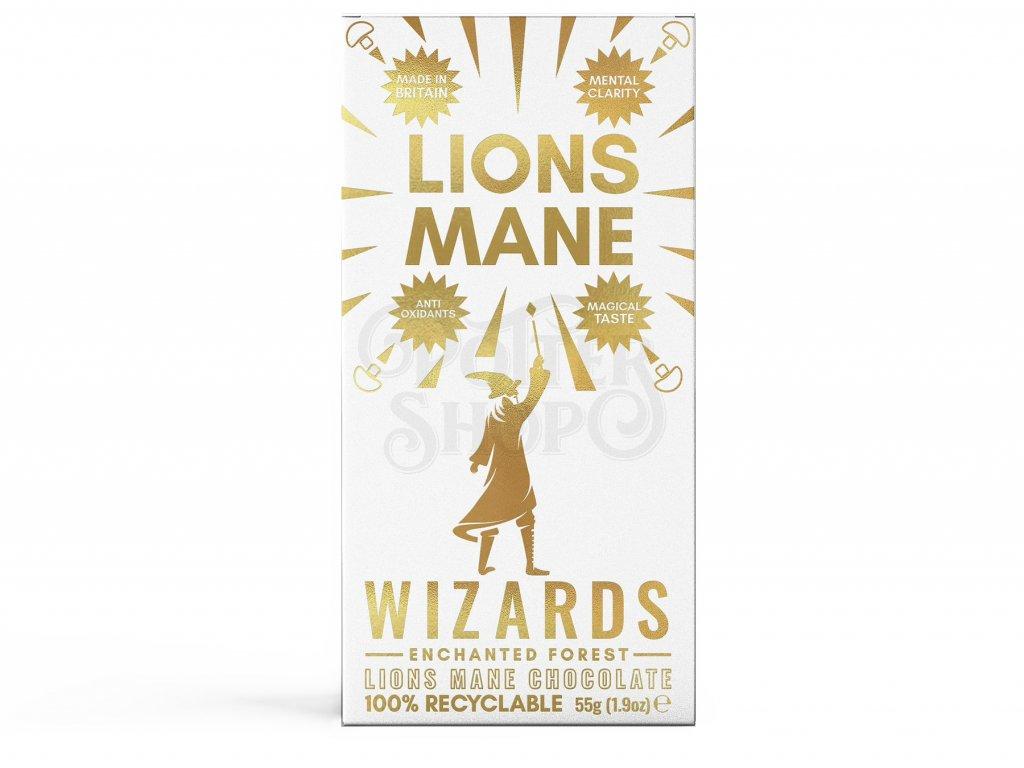 harry potter cokolada wizards magic lions mane
