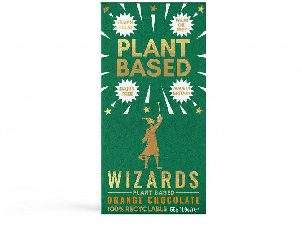 harry potter cokolada wizards magic plant based pomeranc