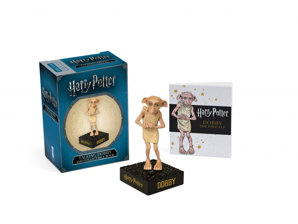 Harry Potter: Mluvící Dobby – figurka s nálepkami
