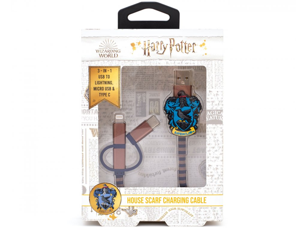 3708 HP USB Cables Ravenclaw Front Packaging