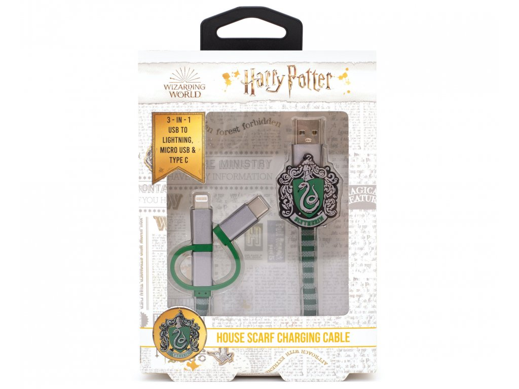 3707 HP USB Cables Slytherin Front Packaging
