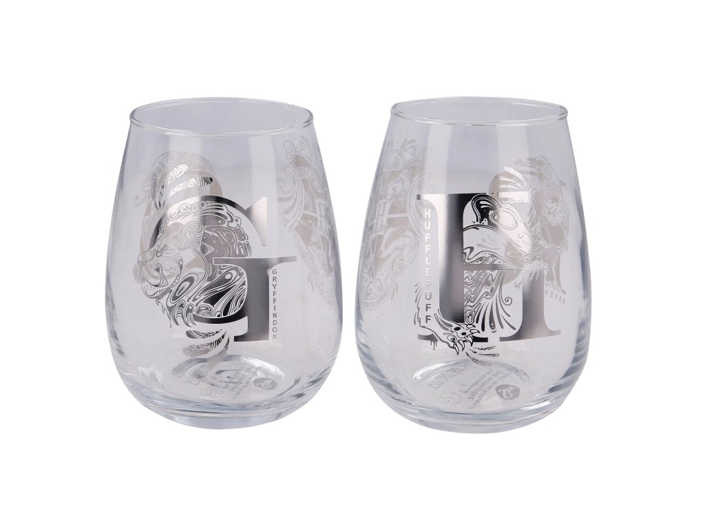 2 pcs 510 ml crystal glass set harry potter