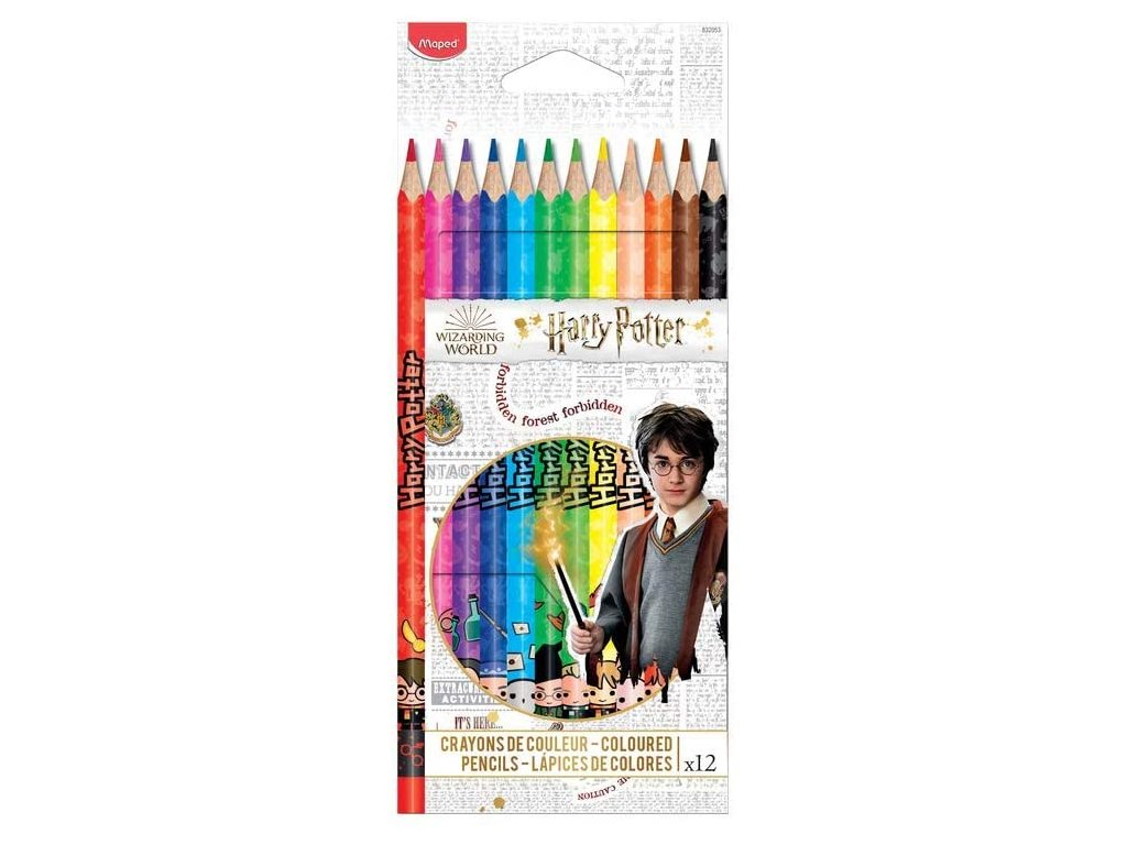 maped crayons de couleurs harry potter