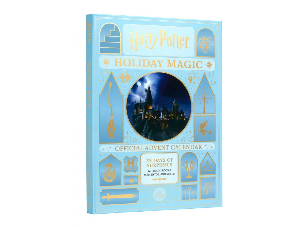 harry potter holiday magic the official advent calendar harry potter gallery 6143c4450bc72