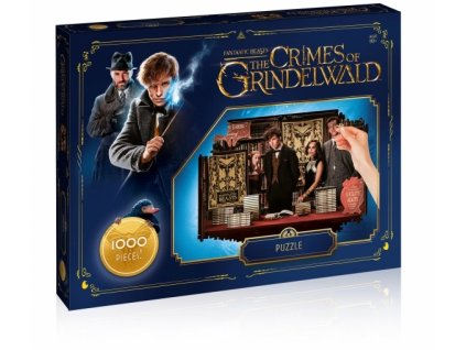 fantastic beasts 2 jigsaw puzzle number 1