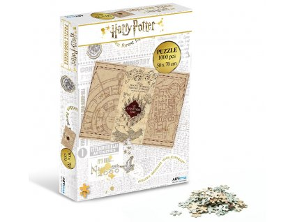 2harry potter jigsaw puzzle 1000 pieces marauder s map kopie