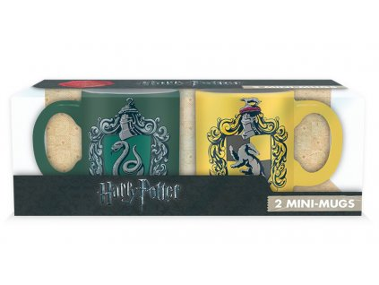 harry potter set 2 espresso mugs 110 ml slyth huffle x223 kopie