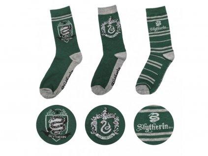 29180 harry potter socks 3 pack slytherin cinereplicas