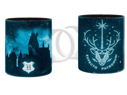 harry potter mug 320 ml expecto patronum subli x2 kopie