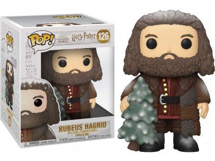Funko POP! #126 Harry Potter: Hagrid se stromkem (extra velikost) - poškozený obal