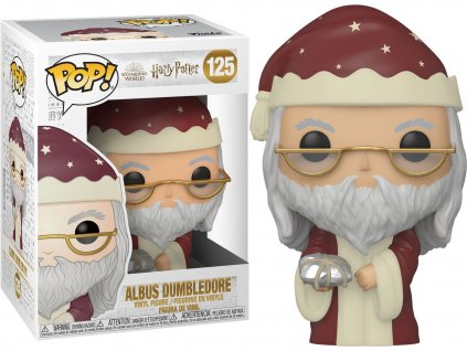 Funko POP! #125 Harry Potter: Brumbál s dárkem