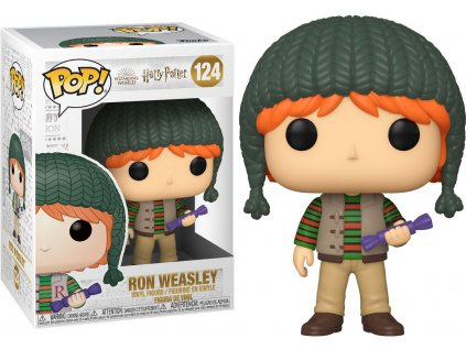 Funko POP! #124 Harry Potter: Ron s čepicí