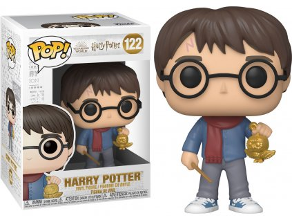 Funko POP! #122 Harry Potter: Harry s vánoční ozdobou