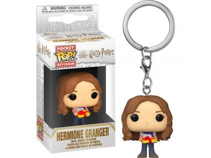 Harry Potter Pocket POP! Vinyl Klíčenka Hermiona Grangerová s dárkem