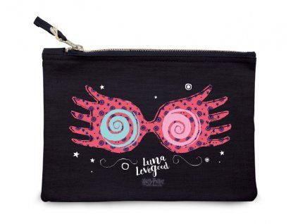 harry potter cosmetic case luna blue
