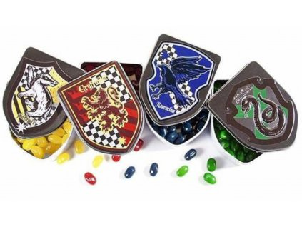 harry potter hogwarts house crest tins with jelly