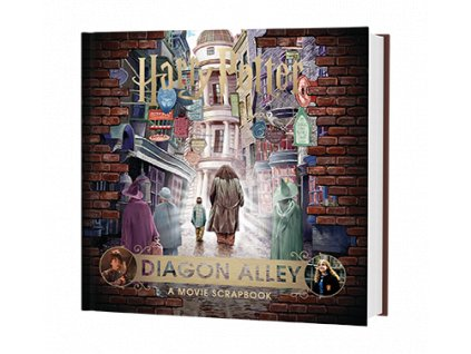 Kniha Harry Potter - Diagon Alley: A Movie Scrapbook