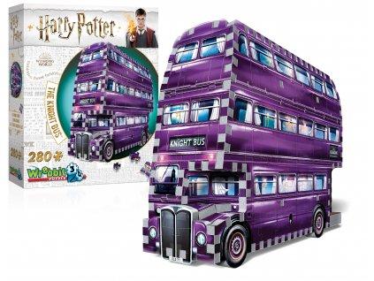 puzzle 3D zachranny autobus