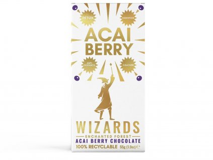 harry potter cokolada wizards magic acai berry