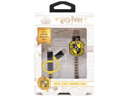 3706 HP USB Cables Hufflepuff Front Packaging