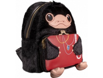 loufbbk0002 fantastic beasts the crimes of grindelwald niffler cosplay 10 inch plush mini backpack popcultcha 01