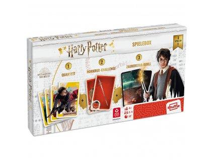 Harry Potter – Sada karetních her  + Česká pravidla