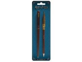 Harry Potter psací set (hůlka a koště)