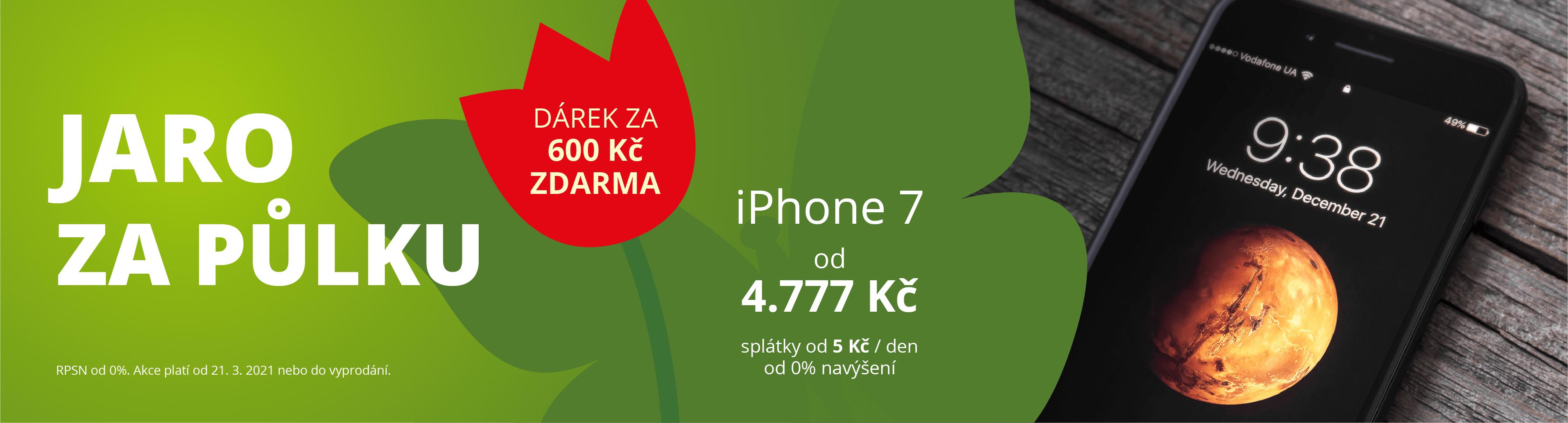 iPHONE 7 jaro 2021 za půlku (DESKTOP)