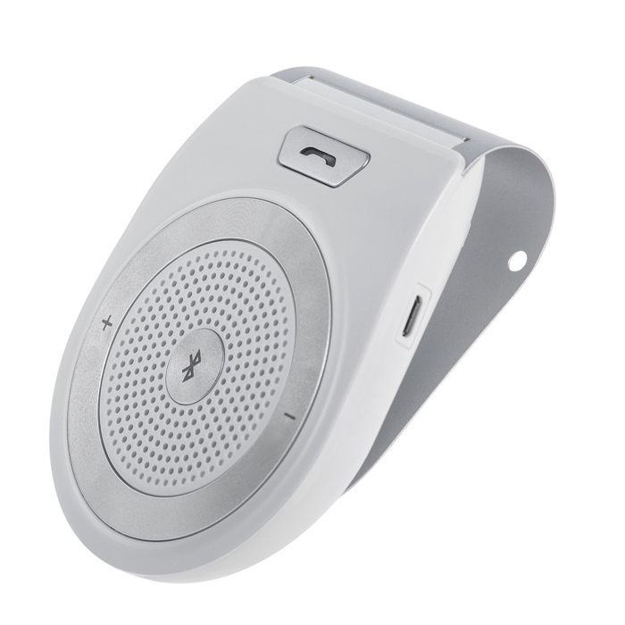 Handsfree MasterMobile Bluetooth STANDARD do auta na stínítko bílé