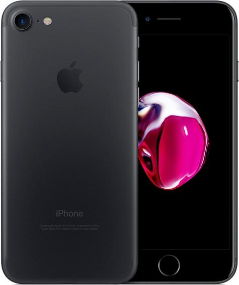 iPhone 7 Black (černý matný) + DÁRKY za 500 Kč + 33 dní výměna ZDARMA Paměť: 32GB, Kategorie: A+
