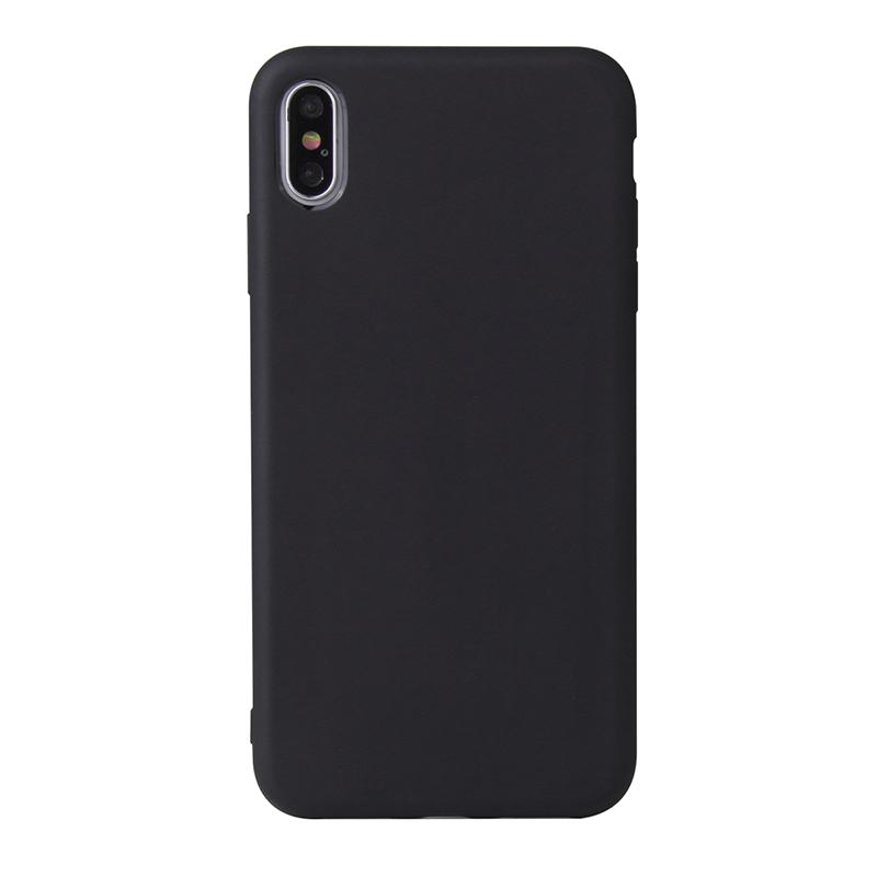 MasterMobile Kryt pro Apple iPhone XR Barva: Černá (Black)