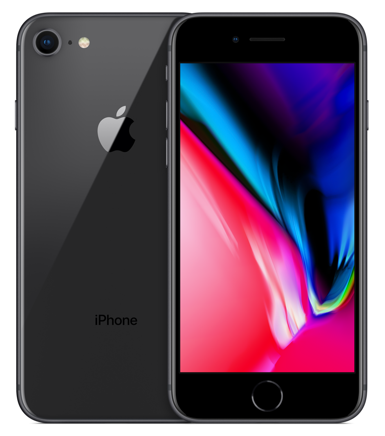 iPhone 8 SpaceGrey (šedo-černý) + DÁRKY za 500 Kč + 33 dní výměna ZDARMA Paměť: 64GB, Kategorie: C+