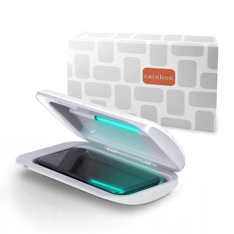 UV sterilizátor MasterMobile STANDARD pro mobilní telefony bílý