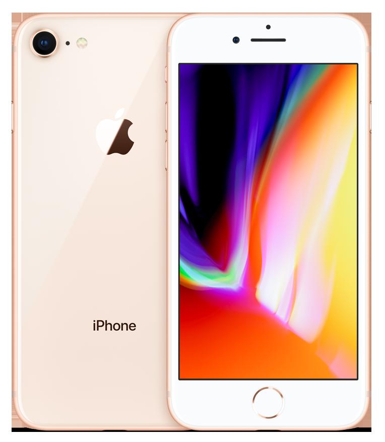iPhone 8 Gold (bílo-zlatý) + DÁRKY za 500 Kč + 33 dní výměna ZDARMA Paměť: 64GB, Kategorie: C+