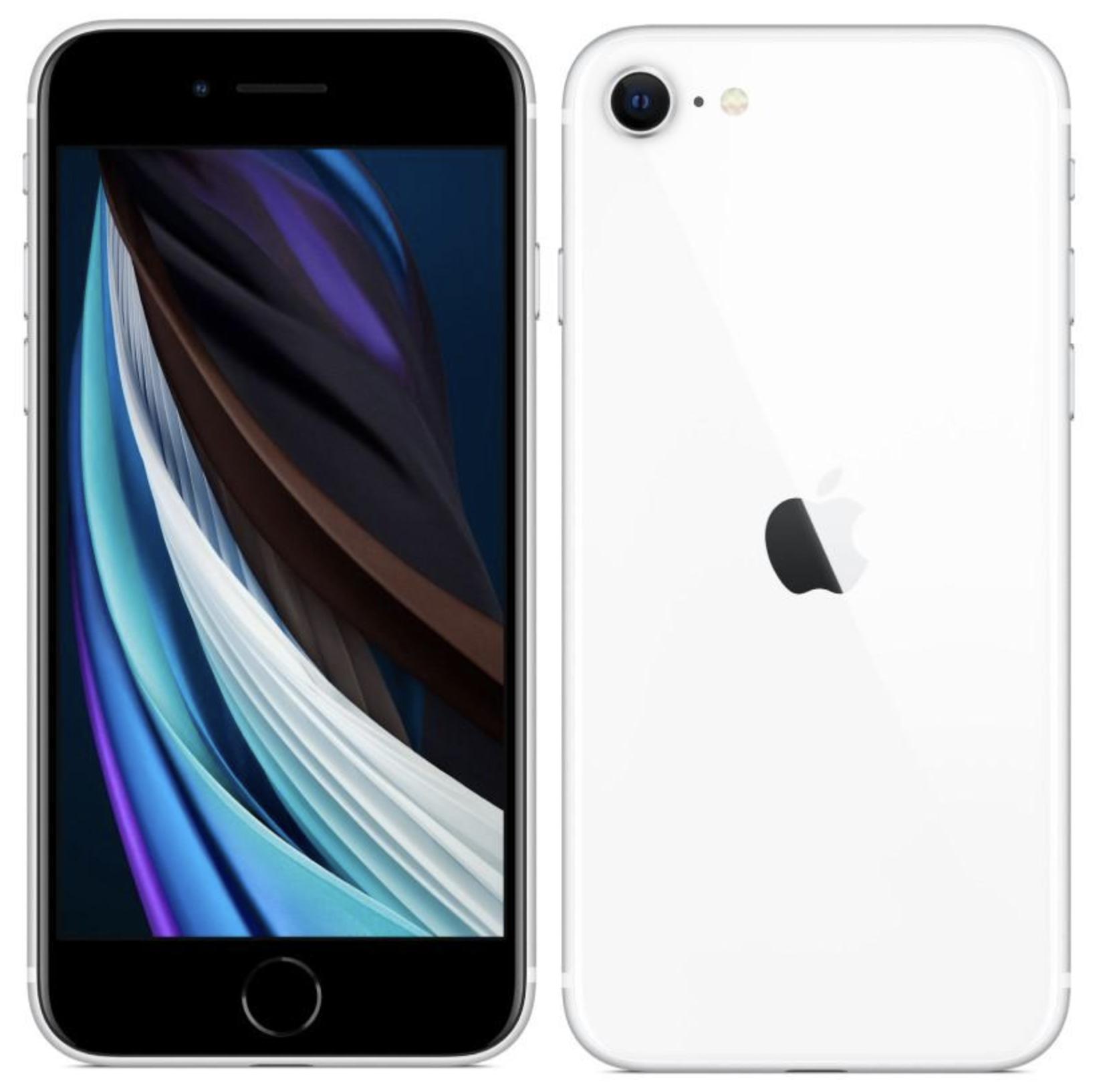 Apple iPhone SE 2020 White (bílý) + 33 dní výměna zdarma Paměť: 64GB, Kategorie: B+