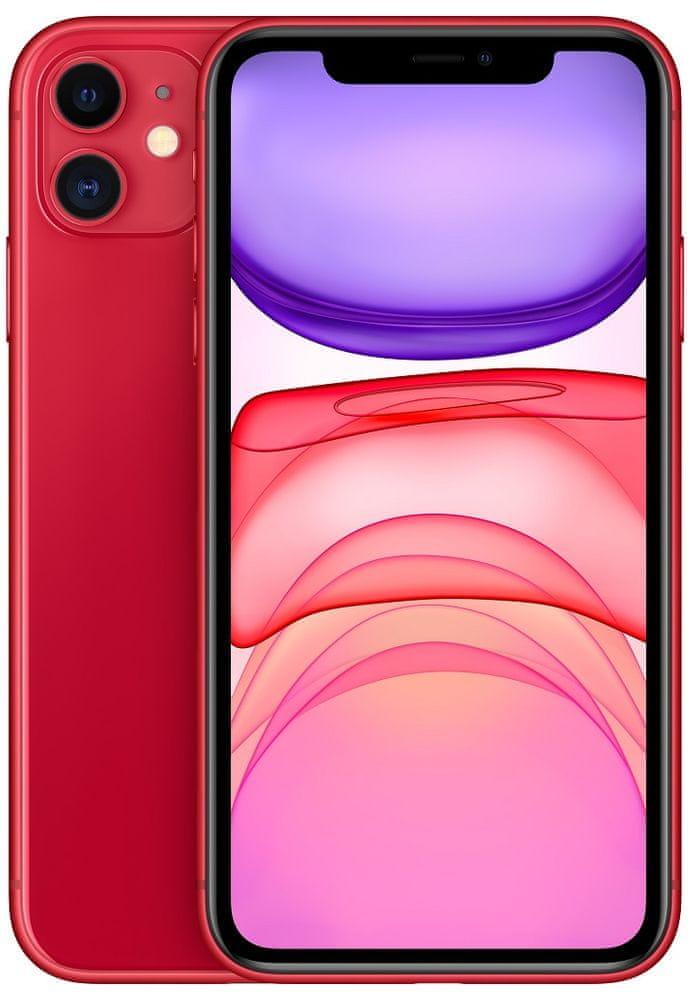 Apple iPhone 11 (PRODUCT) RED (červený) + 33 dní výměna ZDARMA Paměť: 256GB, Kategorie: B+