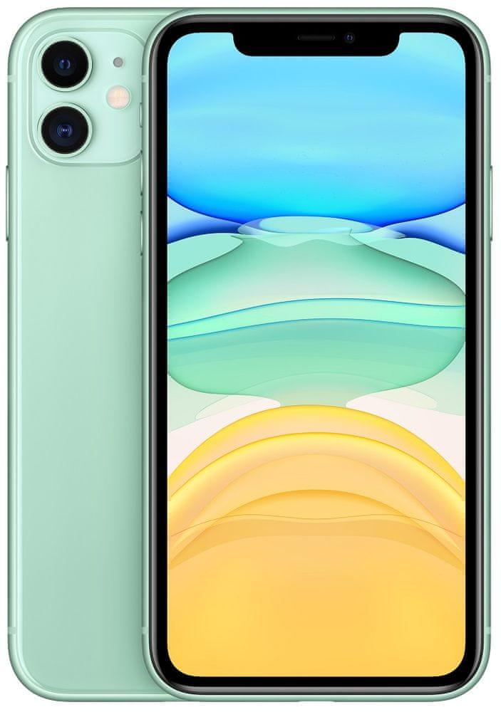 Apple iPhone 11 Green (zelený) + dárky za 1.544 Kč + 33 dní výměna ZDARMA Paměť: 128GB, Kategorie: Nový
