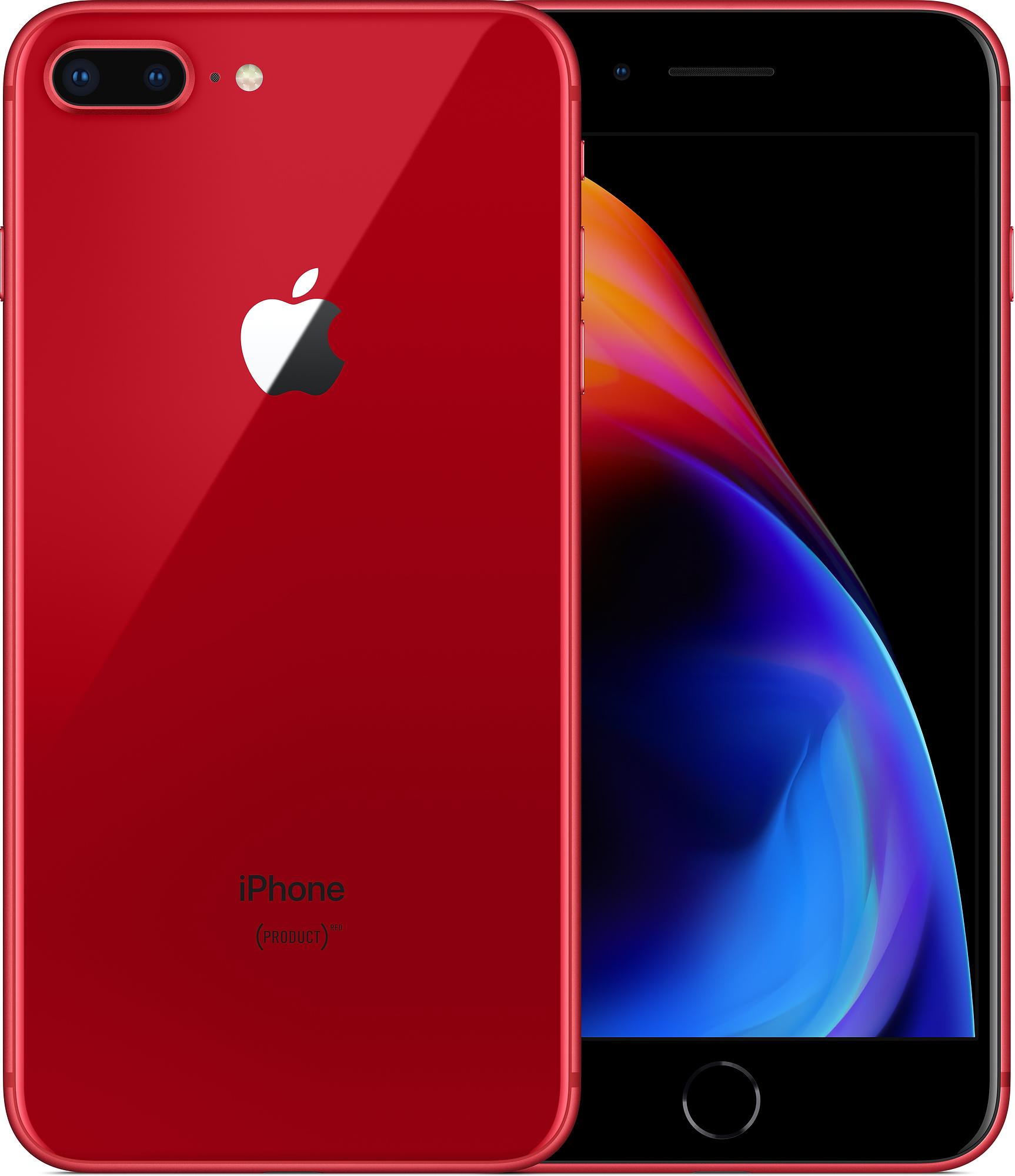 iPhone 8 Plus RED (červený) + DÁRKY za 500 Kč + 33 dní výměna ZDARMA Paměť: 256GB, Kategorie: Premium